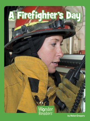 cover image of A Firefighter's Day