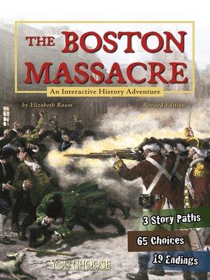 cover image of The Boston Massacre