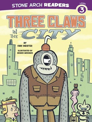 cover image of Three Claws in the City