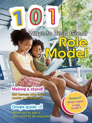 cover image of 101 Ways to Be a Great Role Model