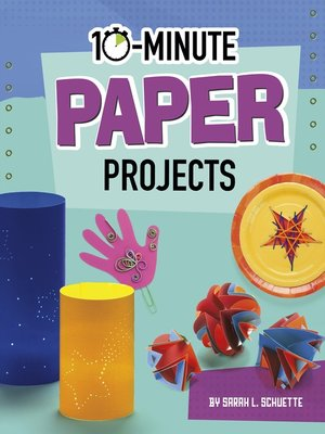 cover image of 10-Minute Paper Projects