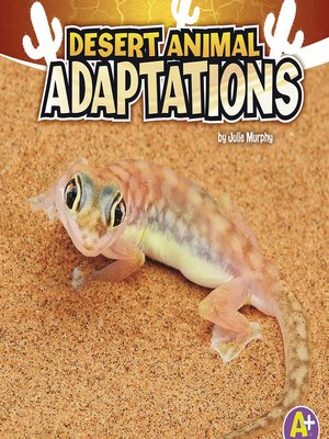 cover image of Desert Animal Adaptations