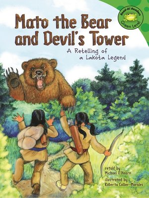 cover image of Mato the Bear and Devil's Tower