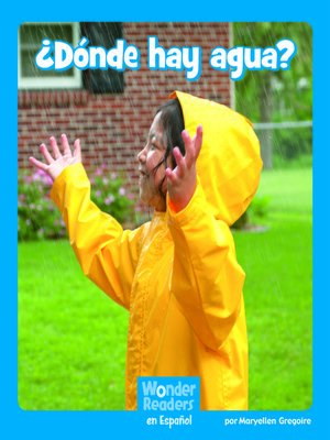 cover image of ¿ ¿Dónde hay agua?