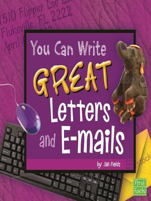 cover image of You Can Write Great Letters and e-mails