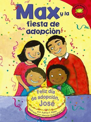 cover image of Max y la fiesta de adopcion
