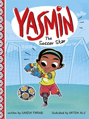 cover image of Yasmin the Soccer Star