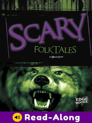 cover image of Scary Folktales