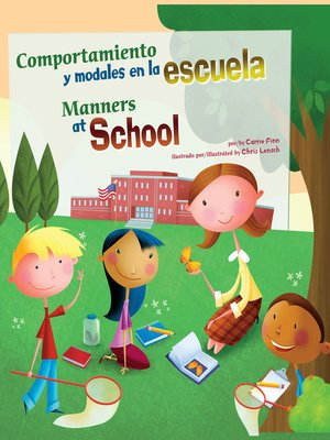 cover image of Comportamiento y modales en la escuela/Manners at School