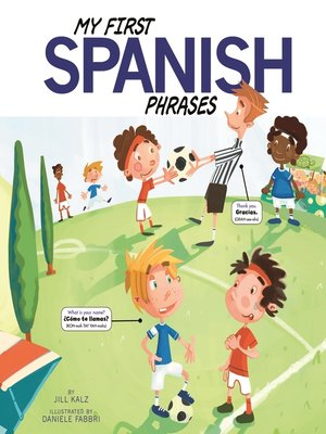 cover image of My First Spanish Phrases