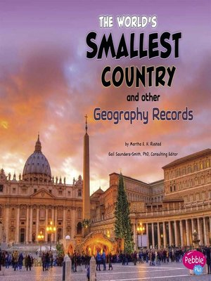 cover image of The World's Smallest Country and Other Geography Records