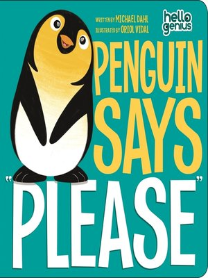 "cover image of Penguin Says ""Please"""