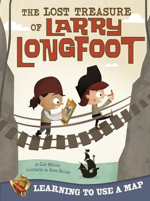cover image of The Lost Treasure of Larry Longfoot