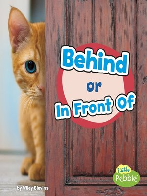 cover image of Behind or In Front Of