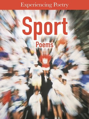 cover image of Sports Poems