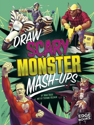 cover image of Draw Scary Monster Mash-Ups