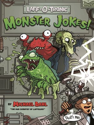 cover image of Laff-O-Tronic Monster Jokes!