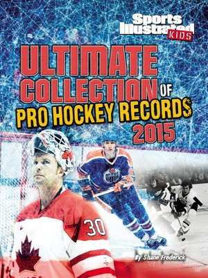cover image of Ultimate Collection of Pro Hockey Records 2015