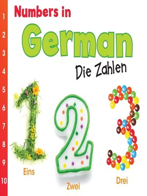 cover image of Numbers in German