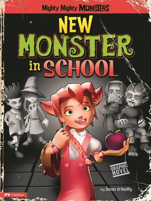 cover image of New Monster in School