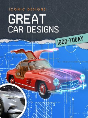 cover image of Great Car Designs 1900--Today