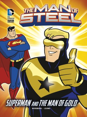cover image of Superman and the Man of Gold