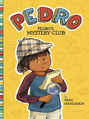 cover image of Pedro's Mystery Club