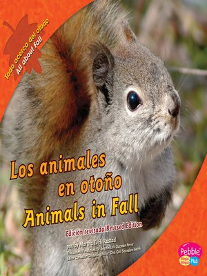 cover image of Los animales en otoño/Animals in Fall