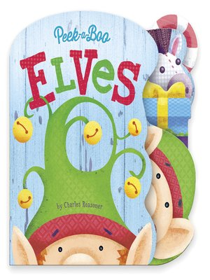 cover image of Peek-a-Boo Elves