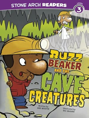 cover image of Buzz Beaker and the Cave Creatures