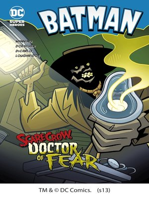cover image of Scarecrow, Doctor of Fear