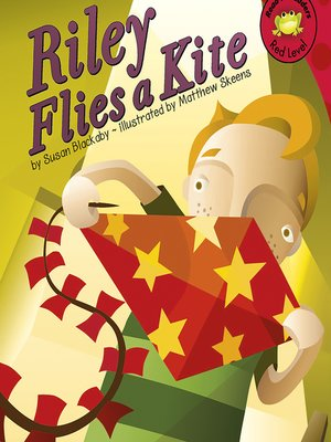 cover image of Riley Flies a Kite
