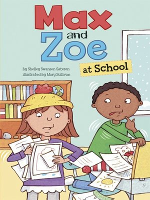 cover image of Max and Zoe at School