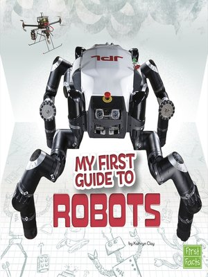 cover image of My First Guide to Robots