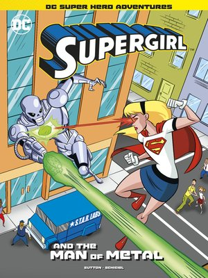 cover image of Supergirl and the Man of Metal