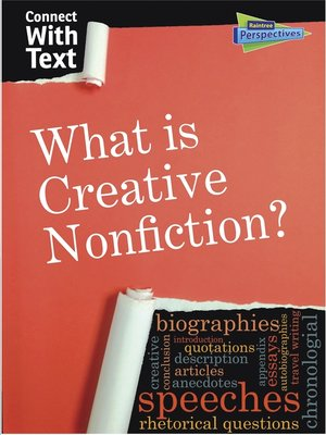 cover image of What is Creative Nonfiction?