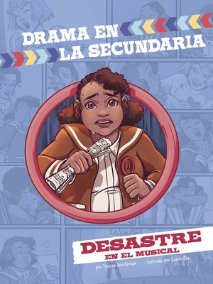 cover image of Desastre en el musical