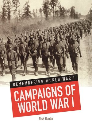 cover image of Campaigns of World War I