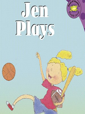 cover image of Jen Plays
