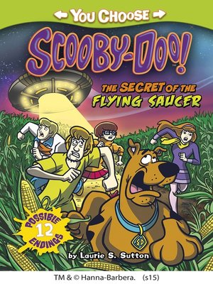 cover image of The Secret of the Flying Saucer