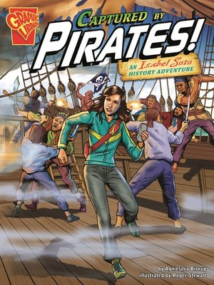 cover image of Captured by Pirates!