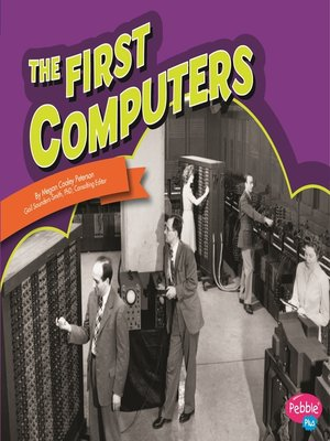 cover image of The First Computers
