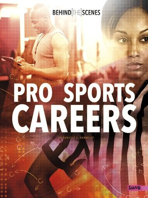 cover image of Behind-the-Scenes Pro Sports Careers