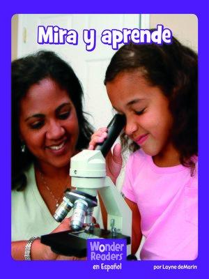 cover image of Mira y aprende