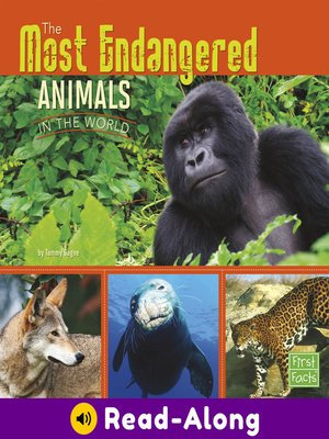 cover image of The Most Endangered Animals in the World