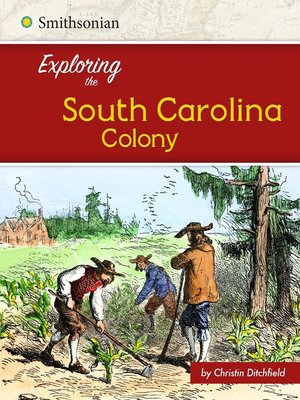cover image of Exploring the South Carolina Colony