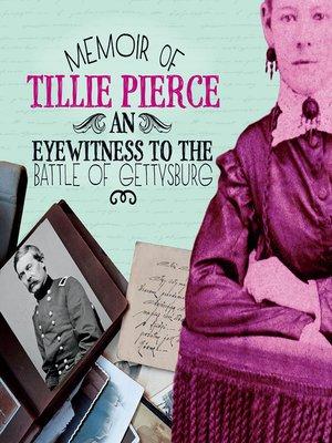 cover image of Memoir of Tillie Pierce