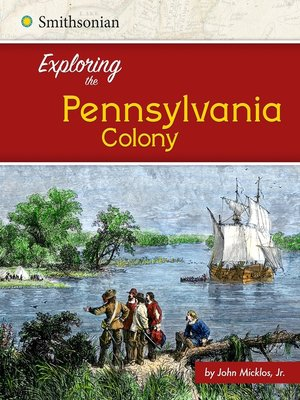cover image of Exploring the Pennsylvania Colony