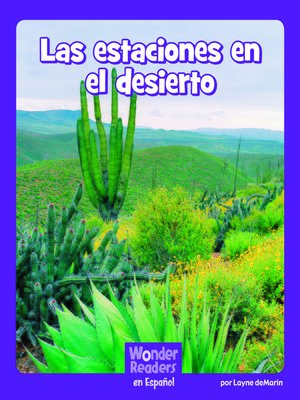 cover image of Las estaciones en el desierto