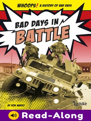 cover image of Bad Days in Battle